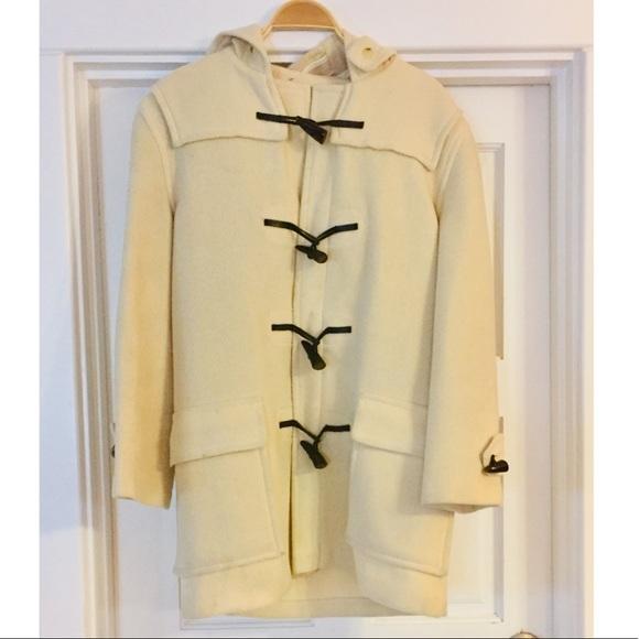 Burberry Jackets & Blazers - ✨BURBERRY✨Wool Duffle Hooded Coat